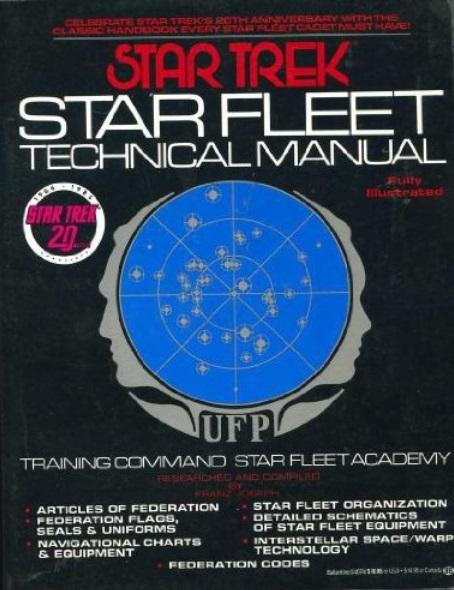 starfleet technical manual