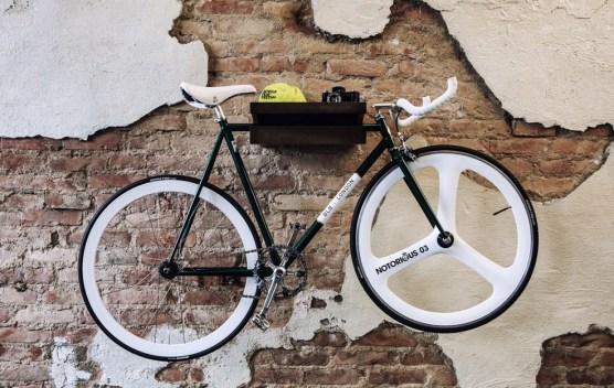 unique bike shelf simple