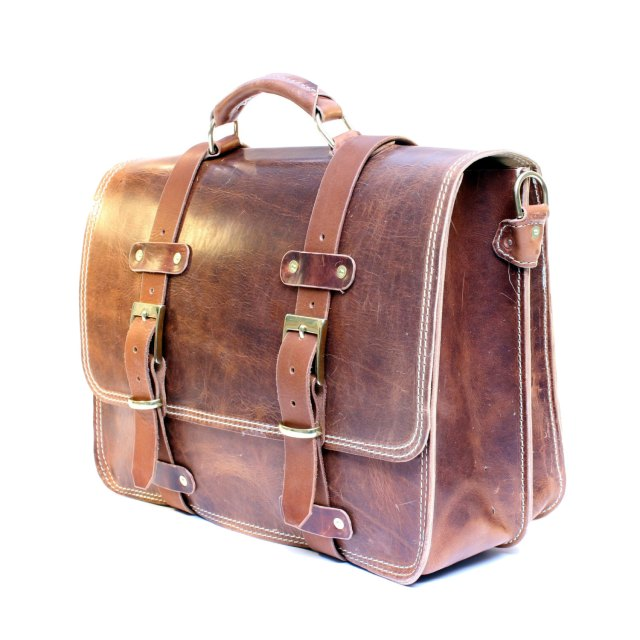 lether briefcase for men