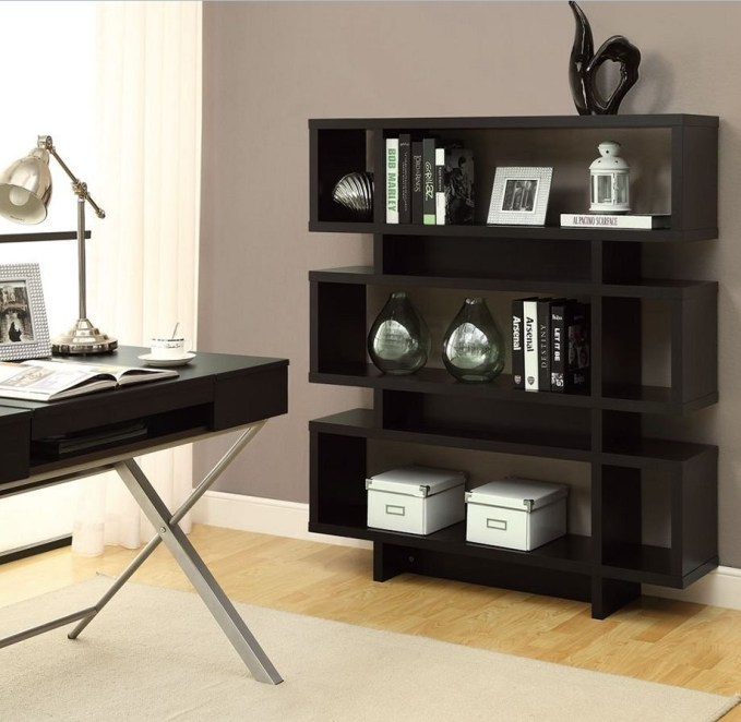 modern shelf for guys room