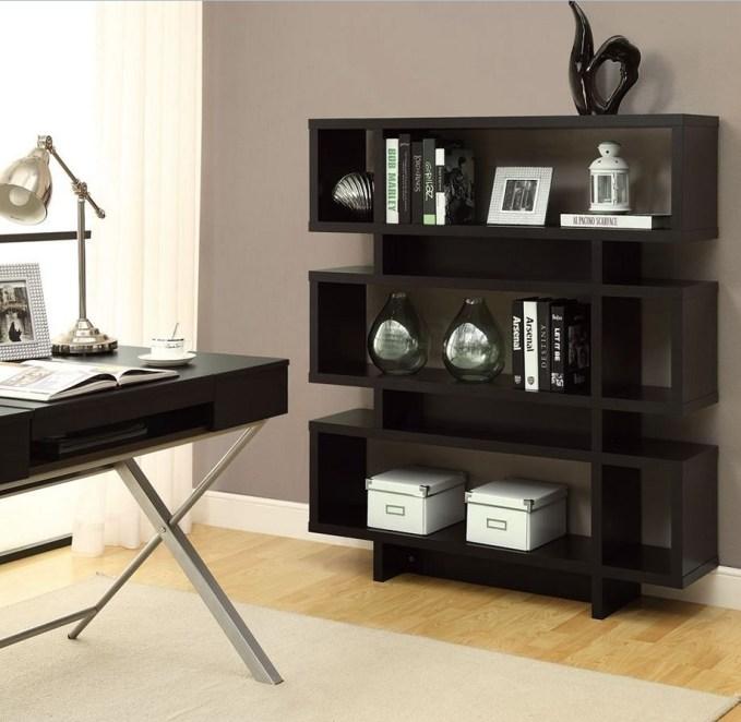 modern shelf for guys room