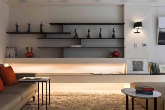 simple modern wall shelf idea