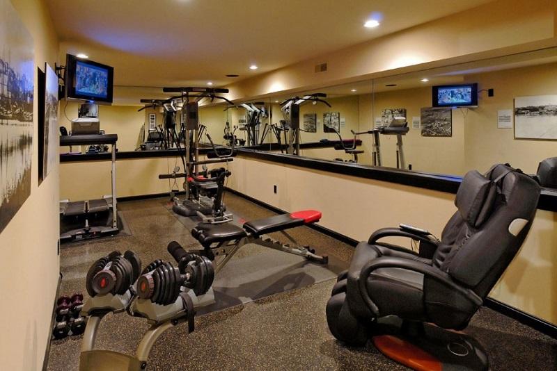 man cave gym