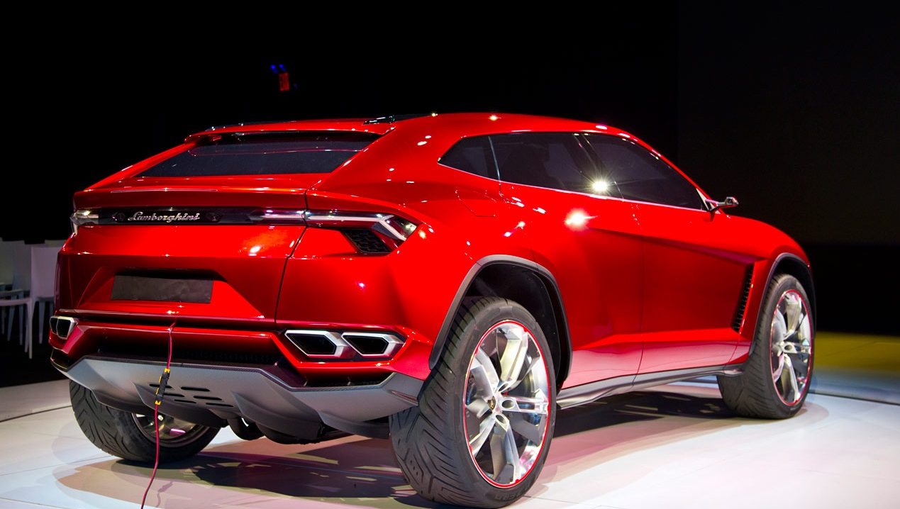 The New Lamborghini SUV coming to you in 2018  DudeLiving