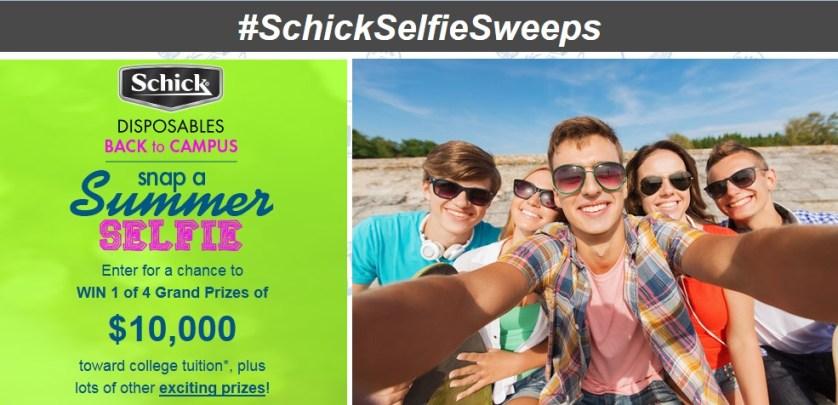 shick selfie contest