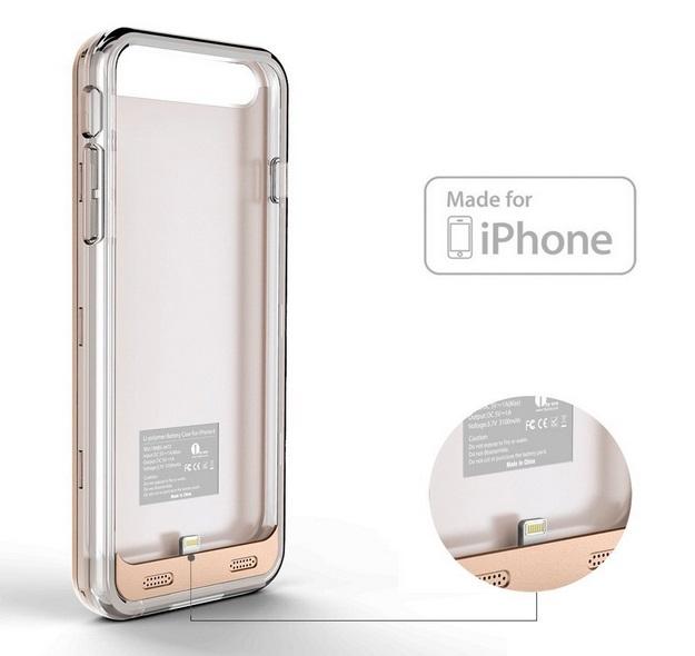 iphone 6 rechargable case