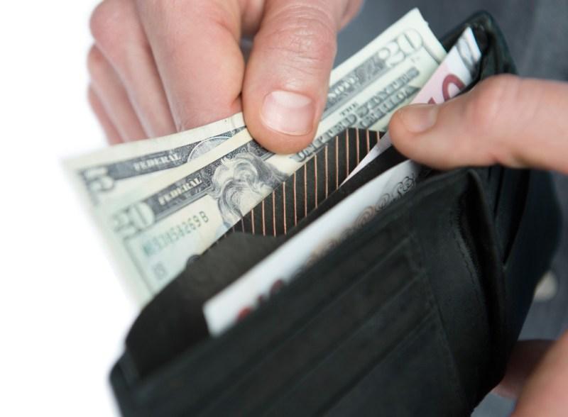 wallet divider