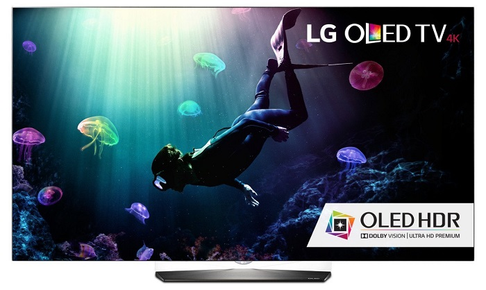 best rated tvs 2017