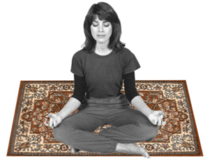 nirvana on the rug, man