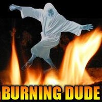 burning dude
