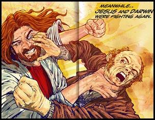 jesus vs darwin