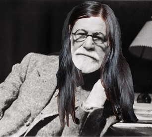 freud long hair