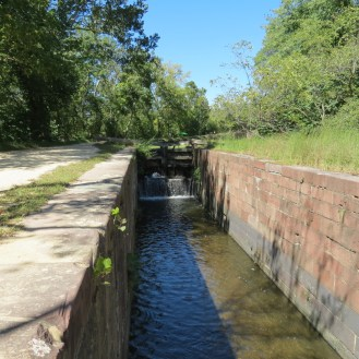 Lock on the C&O Canal