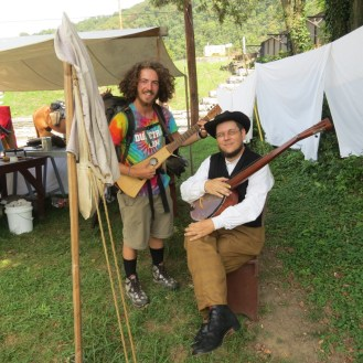 Period accurate banjo maker in Harpers Ferry