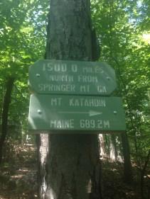 1,500 Miles Left Outside Salisbury, Connecticut