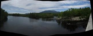 Abol Bridge in Maine Panorama