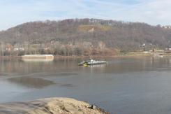 Anderson Ferry on the Ohio River