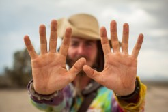 Hands Destroyed by the Desert- Photo Cred to Andrew Walsh Photography