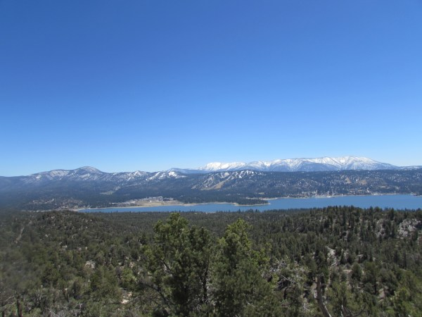 Big Bear Lake in the San Bernardino Mountains
