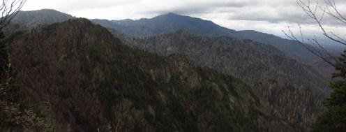 Charlie's Bunyon on the Tennessee/North Carolina Border Panorama