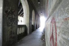 Tunnel Graffiti in Clarksburg, West Virginia
