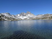 Garnet Lake in the Ansel Adams Wilderness