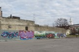 Graffiti in New Albany, Indiana