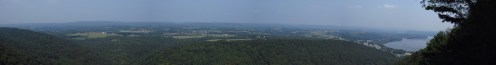 Hawk Rock Outside Duncannon, Pennsylvania Panorama