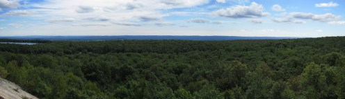 High Point State Park, New Jersey Panorama