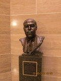 Charlie Parker Bust in the Jefferson City State Capital Building
