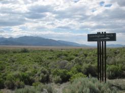Great Basin National Park Lexington Arch Sign