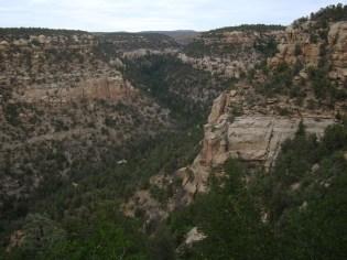 Petroglyph Point Trail in Mesa Verde National Park, Colorado