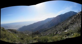 Fuller Point on Mount San Jacinto Panorama