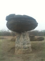 Mushroom Rock State Park Outside Kanopolis, Kansas