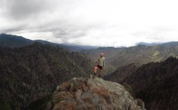 Me on Charlie's Bunyon on the Tennessee/North Carolina Border Panorama