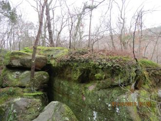 Rim Rock National Recreation Trail in the Shawnee National Forest