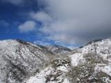 Snow on Mount San Gorgonio