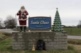Santa Claus Sign in Santa Claus, Indiana