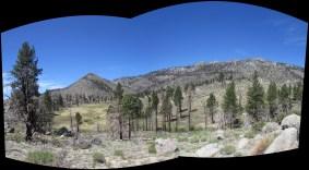 South Sierra Wilderness Panorama