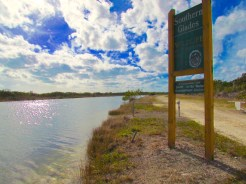 Southern Glades Trail Sign