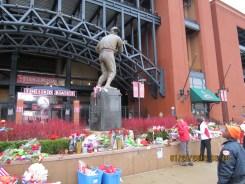 "Stan ""The Man: Musial Memorial at Busch Stadium in St Louis"