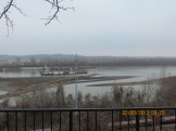 View of the Missouri River from the State Capital Building