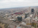 View of St Louis from Gateway to the West