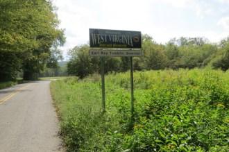 West Virginia Sign