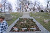 Wright Brothers Grave at the Woodland Cemetery in Dayton, Ohio