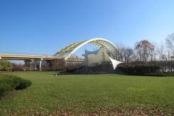Yeatman's Park on the Ohio River Bike Trail in Cincinnati