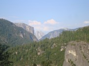 Yosemite National Park Overlook of Half Dome and El Capitan