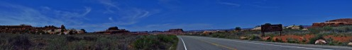 Canyonlands Entrance Panorama