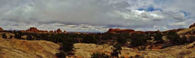 Elephant Canyon Panorama