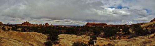Elephant Canyon Panorama